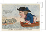 John Bull Peeping into Brest by George Woodward