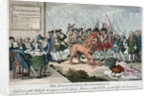 The English Lion Dismembered or the Voice of the Public for an enquiry into the loss of Minorca with Adl. B--g's plea before his Examiners by unknown
