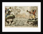 John Bull Exchanging News with the Continent. Trafalgar by George M. Woodward