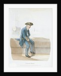 A Greenwich Pensioner (uniform) by Engelmann