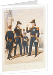 The Royal Navy. No 2. Commander. Captain. Midshipman. Admiral. by Ackermann & Co