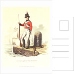 A private of the Royal Marines by C.H.S.