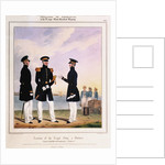 Costume of the Royal Navy & Marines. Captain, Flag Officer & Commander by L. Mansion