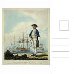 A post captain with a frigate and ships of the line. by D. Serres