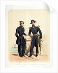 Empire Francais; Capitaire de Fregate (Petit Tenue), Capitaine de Vaisseau (Grande Tenue) (uniform) by de Villain