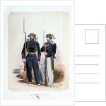 Equipages de Ligne (Quartier Maitre, Matelot) (uniform) by de Villain