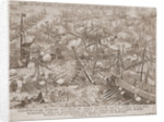 The Battle of Lepanto, 1571 by Adrian Collaert