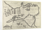 Plan illustrating the English capture of Cadiz on 21 June 1596 by unknown