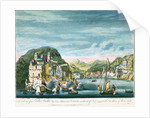 The taking of Porto Bello by Vice Admiral Vernon on the 22d of Nov. 1739 with Six Men of War only by Peter Monamy