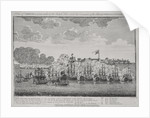 A view of Geriah as it was taken by the British fleet under the command of the Admirals Watson and Pocock February 13th 1756 by M. Hore