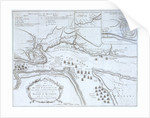 An Authentic Plan of the River St Laurence by unknown