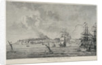 View of Coron when besieged by the Russians in 1770 by Lienard