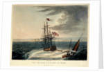View of 'Acre' & HMS 'Le Tigre' by F.B. Spilsbury