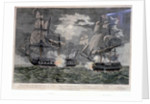 A Representation of the Engagement between His Majesty's Frigate the 'Indefatigable' and the French Frigate 'La Virginie', at Midnight, on the 20th of April 1796... struck to Sir Edward Pellew by John Fairburn