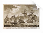 'A Representation of the Glorious Victory obtained by Admiral Duncan over the Dutch Fleet, Octr. 11th.1797 by Thompson