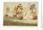 Lord Nelson's Victory over the French & Spanish Fleets off Trafalgar, Octr 21st 1805 by unknown
