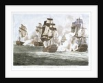 Lord Nelson's Victory over the French & Spanish fleets off Trafalgar, 21 October 1805 by John Fairburn