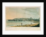 Isle of France No.6: the Town of Port Louis, from the West of the Harbour by William Daniell