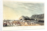 No. 7 'The troops landing at Rus ul Khyma, 13 November 1809' by R. Temple