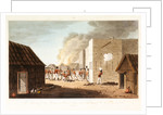 No. 8 'The storming of a storehouse near Rusal Khyma, 13 November 1809' by R. Temple