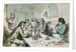 Coffee House in Salisbury Market Place by Thomas Rowlandson