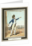 'Lieutenant': no. 7 in series by Thomas Rowlandson