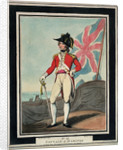 Captain of Marines: no.10 in series by Thomas Rowlandson