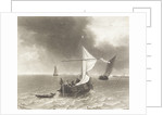 Sailing vessels at the mouth of the river Humber by Joseph Mallord William Turner