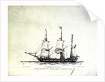 A barque of 295 tons by John Ward