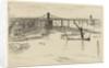 Old Hungerford Bridge by James Abbott McNeill Whistler