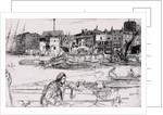 Black Lion Wharf by James Abbott McNeill Whistler
