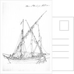 Two fishing boats at Portici, 16 March 1791 by J.T. Serres