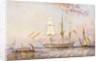 HMS 'Rattlesnake', 1853 by Oswald Walter Brierly
