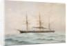 HMS 'Bellerophon'  (1865) by Fred T. Jane