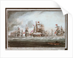 Battle of St Vincent, 1797 by unknown