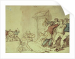 The Press Gang by Thomas Rowlandson
