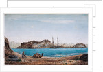 Island of Faroun near the head of the Sea of Akabah.... by Robert Moresby