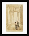 Jack and his father under the Colonnade by Clarkson Stanfield