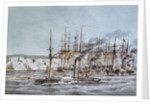 Attack and capture of St Jean D'Acre by a combined squadron under Admiral Sir Robert Stopford, 3 November 1840 by James Kennett Willson
