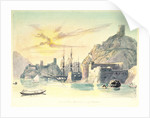 View within the harbour at Muscat by Charles Hamilton Smith