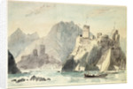 Castles of Jellati & Merani at Muscat by Charles Hamilton Smith