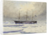 HMS 'Discovery' in the Arctic by William Cluett