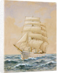 Kilmallie, square-rigged sailing vessel by Philip Hyde
