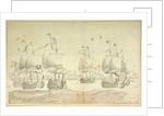 The day after the battle of Solebay, 29 May/8 June 1672 by Willem van de Velde the Elder