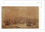 The action at Vigo from the eastward by Willem Van de Velde the Younger