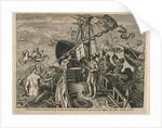 Christopher Columbus Ligur terroribus Oceani superatis alterius pene Orbis regiones a se inventas Hispanis regibus addixit by unknown