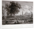 The Beacon-Tower, from the 'Picture in the Royal Collection by Claude Gellee
