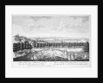 A View of London and Westminster, &c. from One Tree Hill, in Greenwich Park by Pieter Tillemans