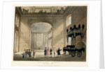 Greenwich Hospital. The Painted Hall by Augustus Charles Pugin