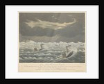 Aquatint of the loss of the West Indiaman 'Belina' on the 23rd of November1824 by George Haywood